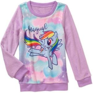 My Little Pony Girls' Minky Sweatshirt